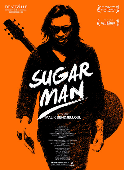 "Cartel del documental ""Sugar man"""